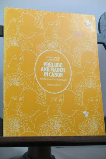 Anderson M B - Prelude & March in Canon for Horn & Piano